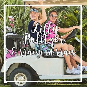 My Lilly Pulitzer & Vineyard Vines Collection